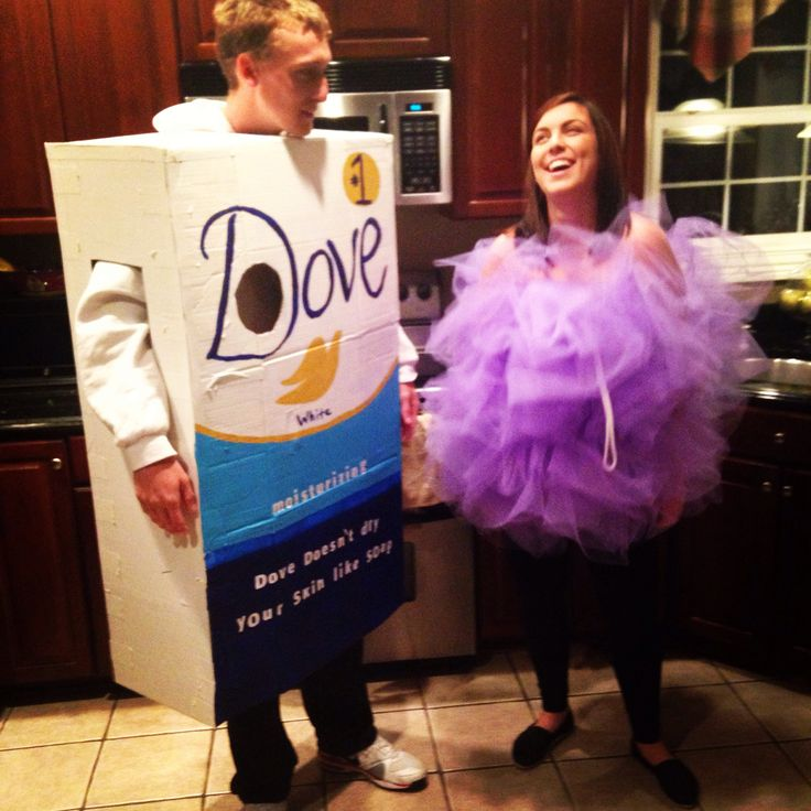 halloween box of soap and loofah costume - Bar Of Soap Halloween Costume