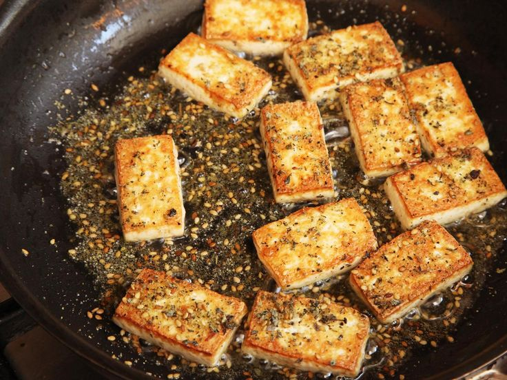 How to cook crispy tofu °°