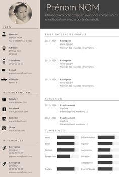 ✿ Envie d'un CV design et tendance ?                              …