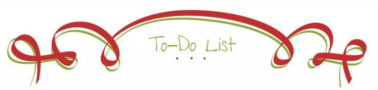 FREE Printable Christmas Organization Lists!