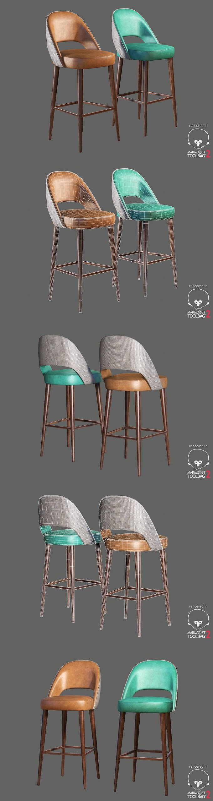 Mambo AVA chair . 3D Furniture