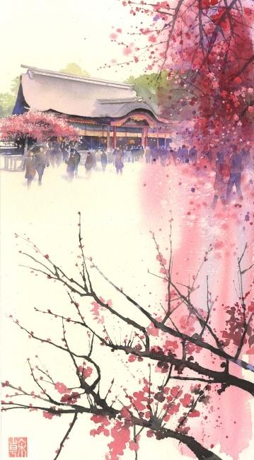 Kanta Harusaki (Watercolor). More