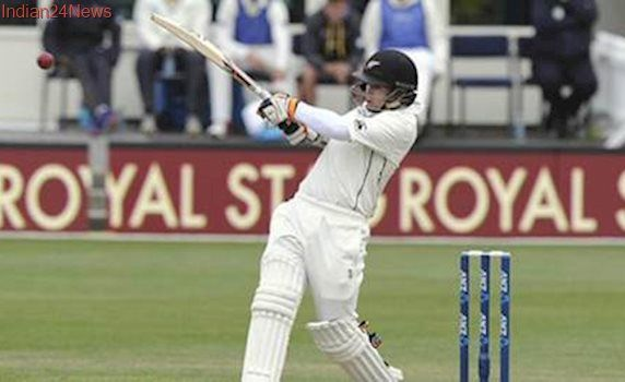 Tom Latham scores ton as New Zealand chase Bangladesh's mammoth total