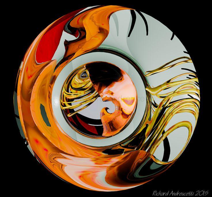 New work titled Oculus (c) Nautilus Art in Series - Richard Andreucetti - Irish Artist