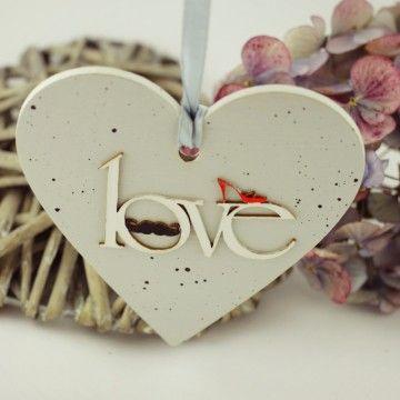 Serduszko Love 9x9 cm