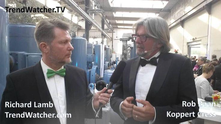Rob Baan vertelt aan Richard Lamb over Koppert Cress en het winnen van de Koning Willem I Plaquette 2016. Laat TrendWatcher.TV verslag doen van úw bijeenkoms...