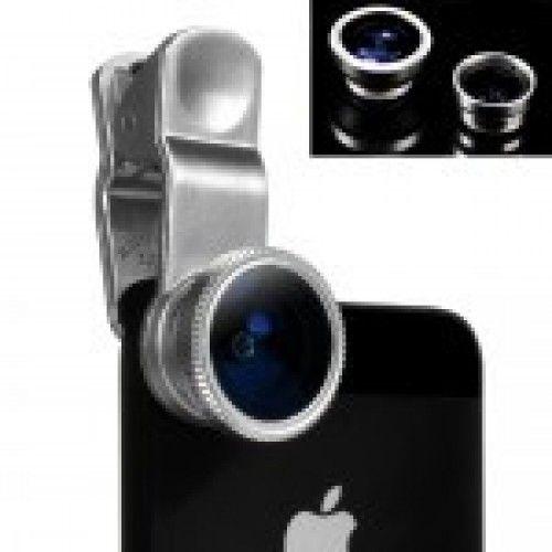 Halszem, széles látószögű és makro optika - lencse telefonra