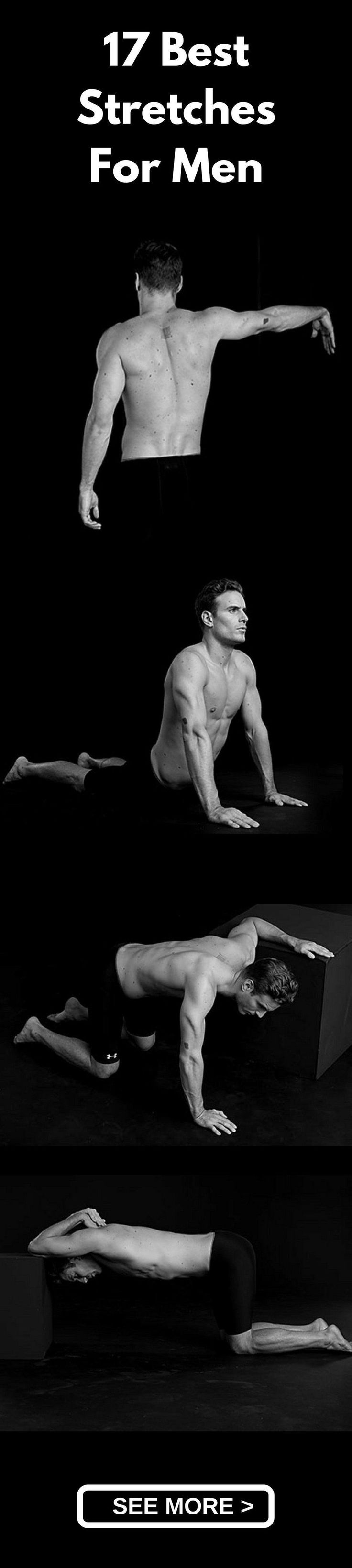 Men's Fitness : 17 Must-Do Stretches For Men