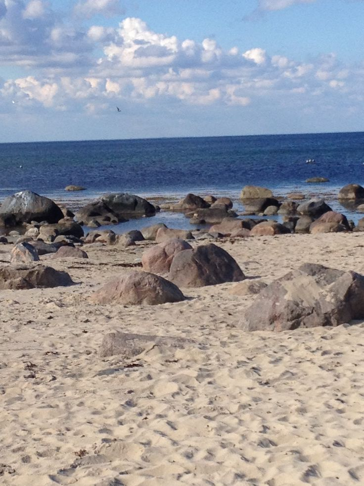 Vitemölla Beach, Skåne, Sweden