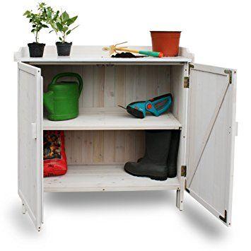 Habau Gartentisch Lino, Grau, 98 X 48 X 95 Cm, 3095: Amazon