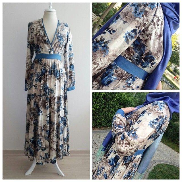 Çiçekli Empirme Elbise  Ürün Kodu: 104001  http://tesetturyakasi.com/Cicekli-Empirme-Elbise