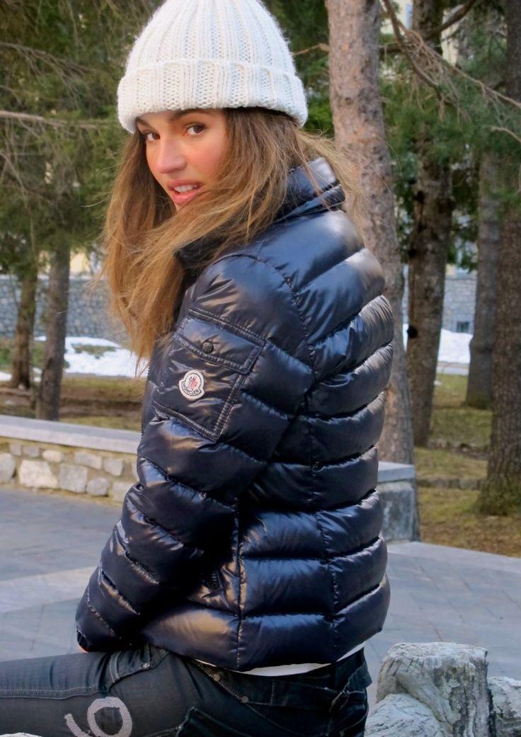 9c6408f4f98f Moncler Kids Down jackets Fall Winter Dark blue