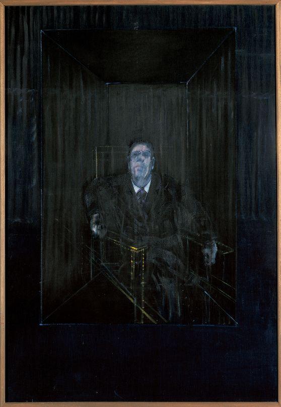 Study of a Portrait, Francis Bacon francis bacon paintings  plastic arts, visual arts, fine arts, art, black
