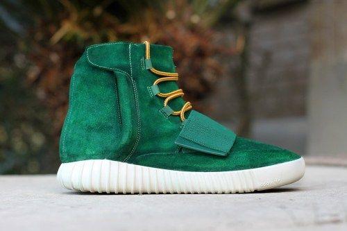 crispculture:  adidas Yeezy Boost 750 by Dank Customs