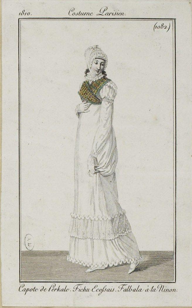 Costume Parisien (1082), 1810.