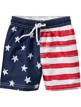 Americana Swim Trunks for Baby | Old Navy