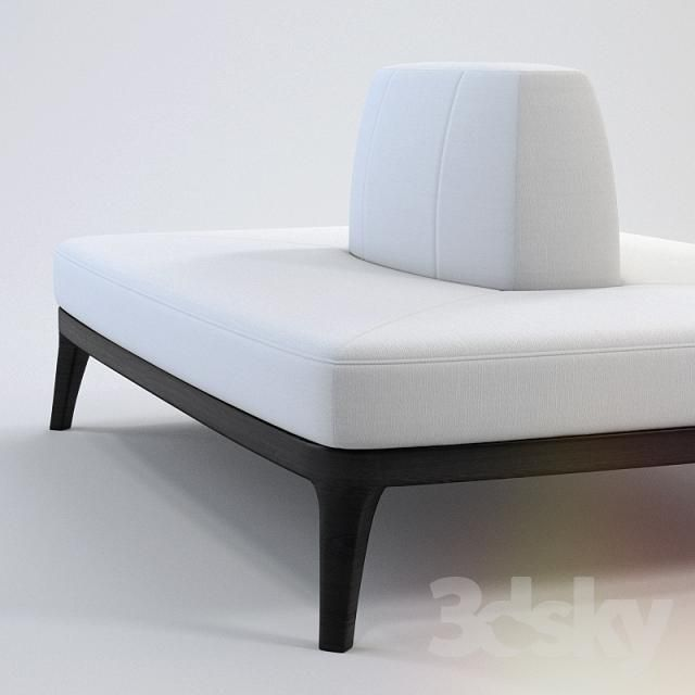 3d Models Other Soft Seating Island Sofa Flexform Mood