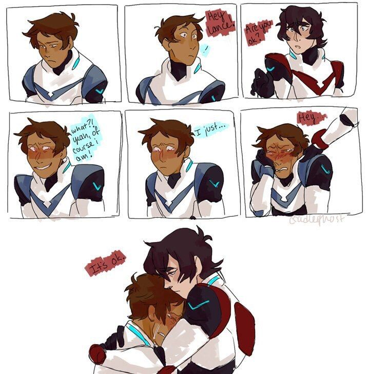 Lance probably misses Earth. Klance