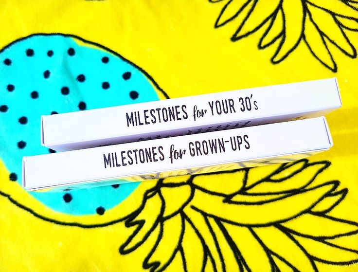 Milestone cards for your 30s! Gift idea! Life is a journey... share your ride!