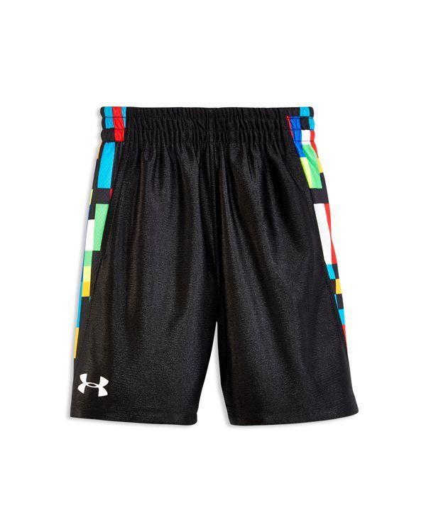 Under Armour Boys' Pixel Zoom Reversible Shorts - Sizes 2-4