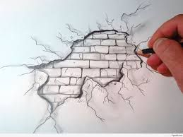 Image result for rock drawing easy