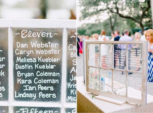 table assignment window display marriage day pinterest wedding