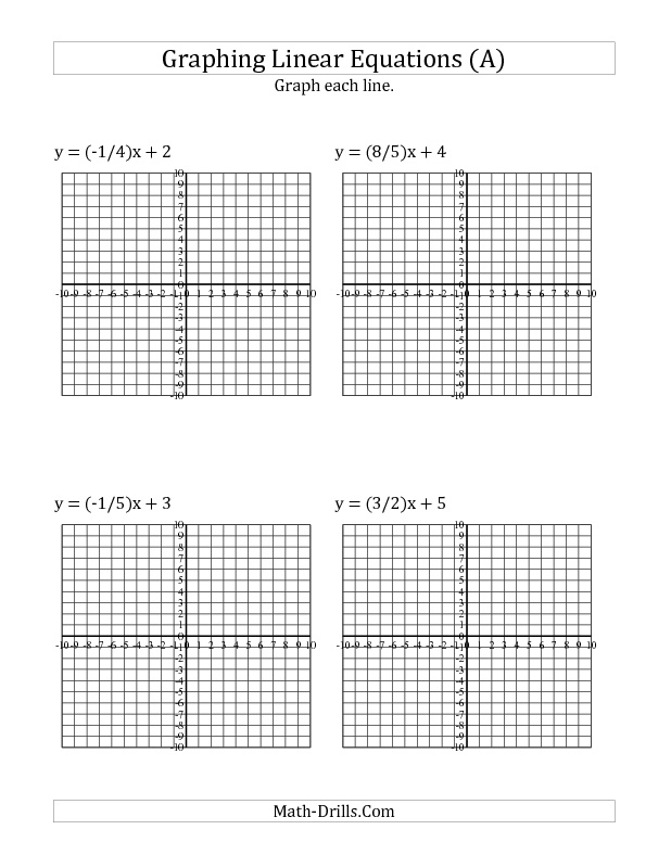 10 Best Algebra Worksheets Images