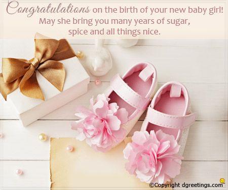 Congratulations On Having A Sweet Little Angel