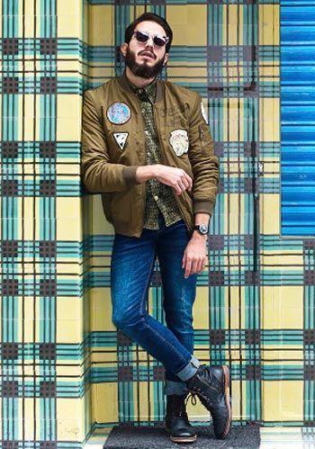 ネイビージャケット×白パンツの春コーディネート【60代男性】(メンズ) | Italy Web