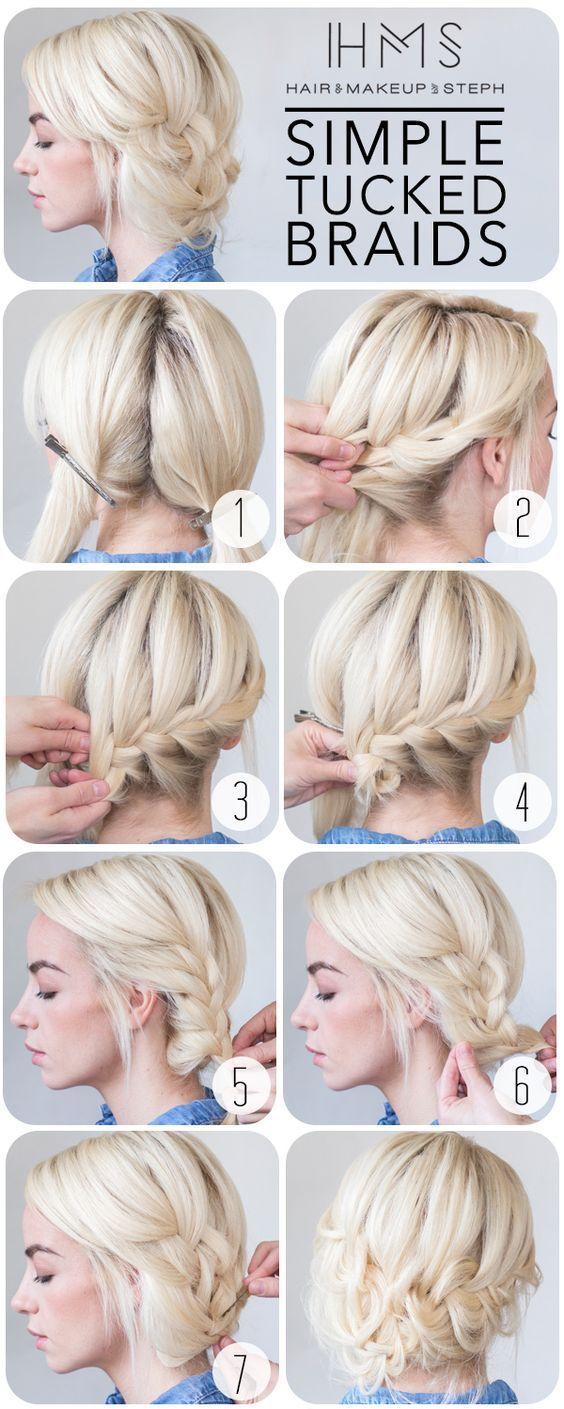 atemberaubende Frisuren mit Schritt für Schritt Anleitungen – Ines Reichhard