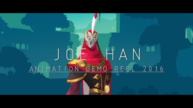 A brief selection of my work an animator in the last 16 years of working in the 3D industry.  Feel free to contact me at joehan26@hotmail.com https://www.linkedin.com/in/joe-han-9bb5a417 IMDB: imdb.com/name/nm1279602/  Shot breakdown:  Motiga Inc. : 1. Gigantic Announce Trailer - Swift & Fang - Animation / Rig 2. Gigantic Announce Trailer - Naga (Old Version) - Animation / Rig 3. Mozo Skill Showcase - Animation / Rig 4. Voden Skill Showcase - Animation / Rig 5. Tank Skill Showca...