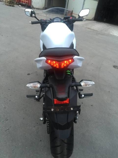 Мотоцикл без пробега по РФ - Kawasaki Ninja 650R, 2015 - Продажа мотоциклов во Владивостоке