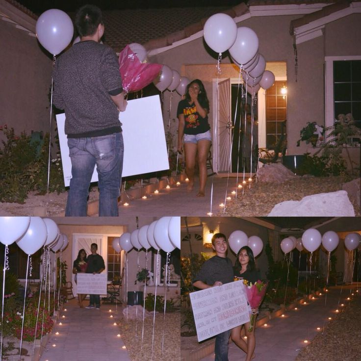 Cute homecoming proposal