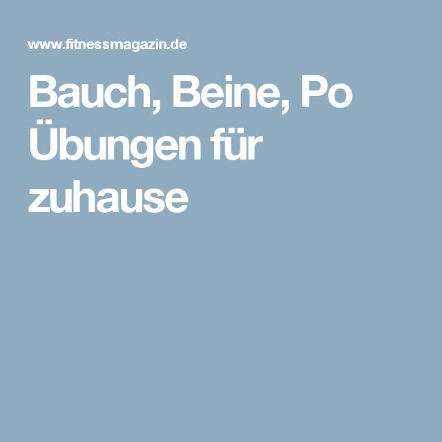 1000 ideas about bauch beine po bungen on pinterest. Black Bedroom Furniture Sets. Home Design Ideas