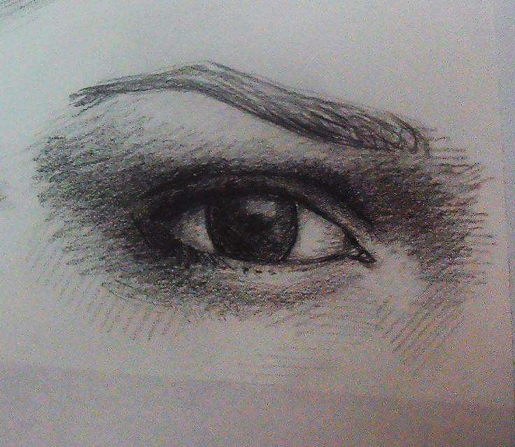 Somebody told me that eye is a window to the soul. Drawing