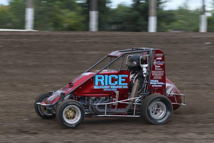 Pat Schudy (All Star Midget Series) City racing, Dirt