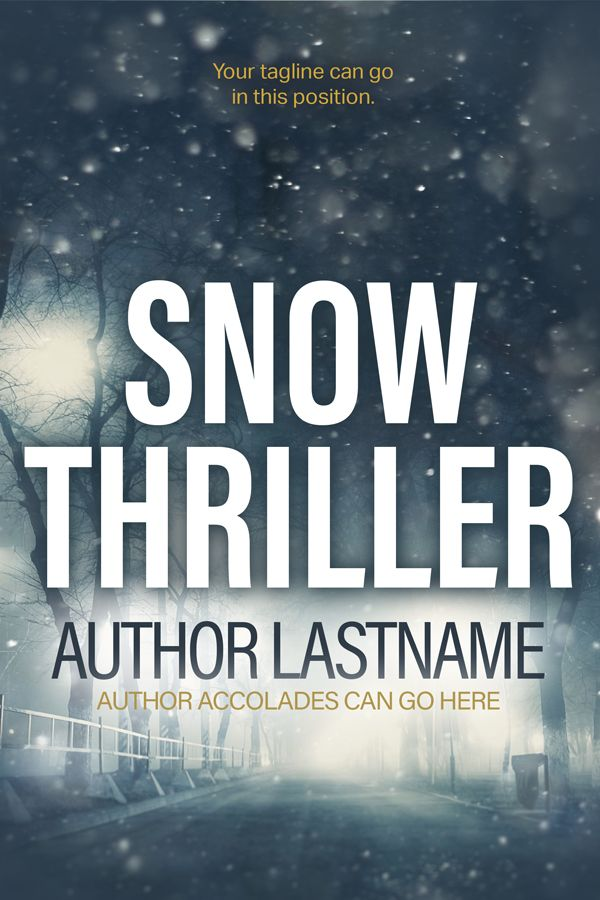 Snow Thriller - Premade Book Cover by Angela Haddon Book Cover Design A bold cover for thrillers & suspense with strong mainstream market appeal. #premadecovers #bookcover #bookcovers #thriller #thrillercover #suspense #thrillersnow #snow #suspensethriller #bookdesign #indieauthor #selfpub #selfpublishing #ebook #indiepub #bookdesigner #bookmarketing #authorpreneur #indiepub #indiepublishing