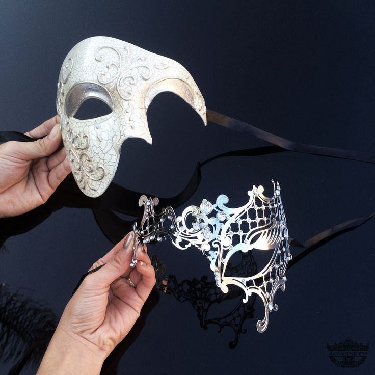 Couples Masquerade Mask, His & Hers Masquerade Mask, Roman Mask, Silver Masquerade Mask, Mens Masquerade Mask, Mardi Gras Masks, Mardi Gras by 4everstore on Etsy https://www.etsy.com/listing/221394270/couples-masquerade-mask-his-hers