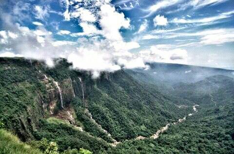 Seven sister falls, Shillong