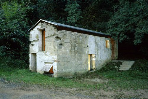Old ruined shed converted into a habitable residense. By Naumann Architektur.: Adaptive Reuse, Studio Naumann, Pigs, Lilhouses Tumblr Com, Small Houses, Unusual Houses, Architectural Design, Arch Design Placemaking