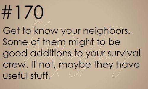 Zombie Apocalypse Survival Tip #170