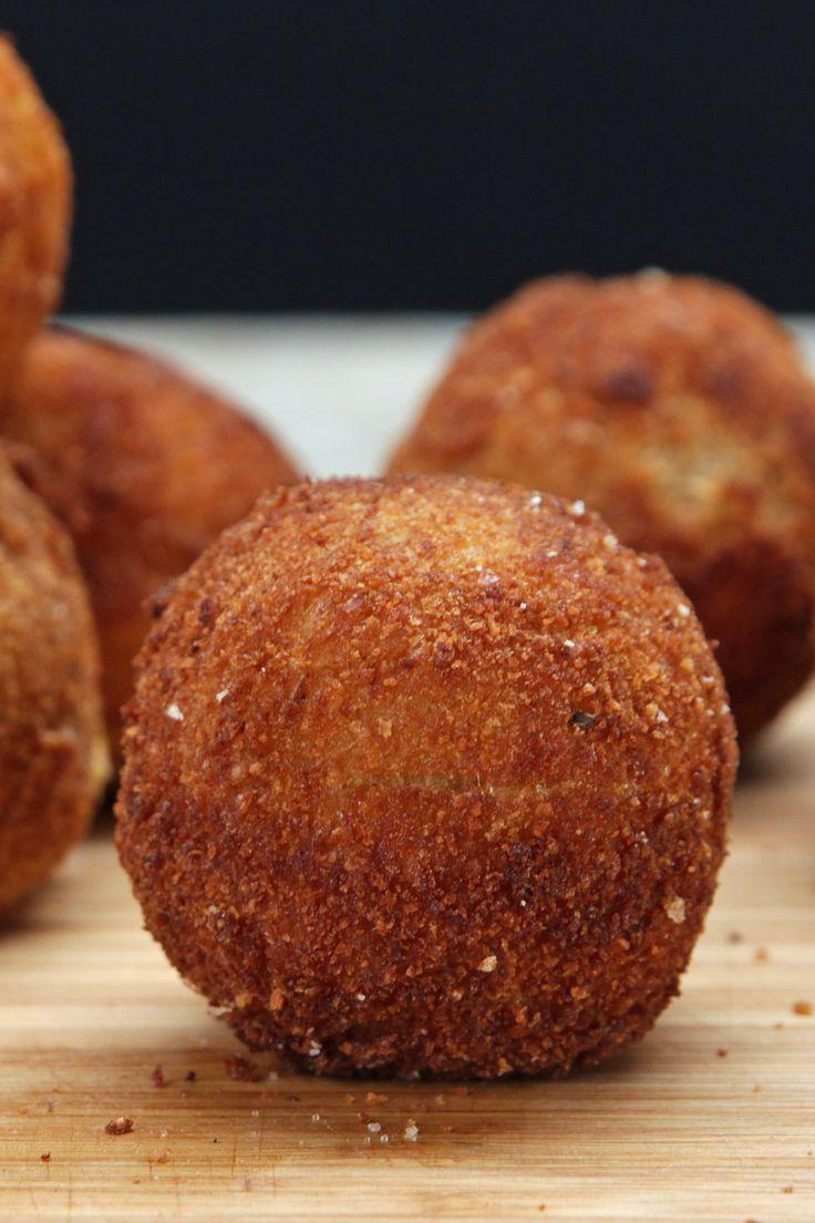 Loaded Cheesy Mashed Potato Balls