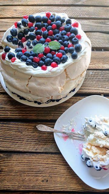 Kuchenne potyczki Alergiczki: Mój pierwszy tort bezowy