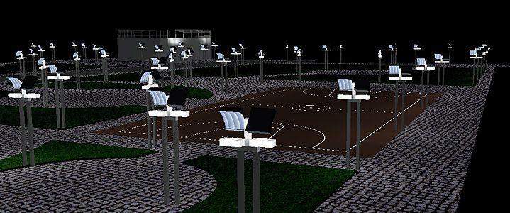 :: SONERES LED BY DREAMS – Iluminação pública a LED ::