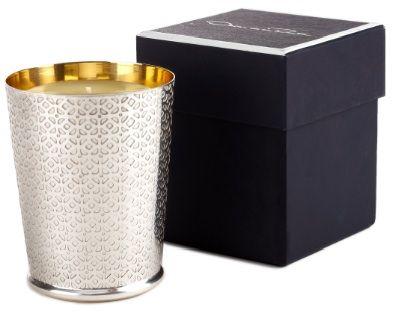 Oscar de la Renta candle--so elegant!