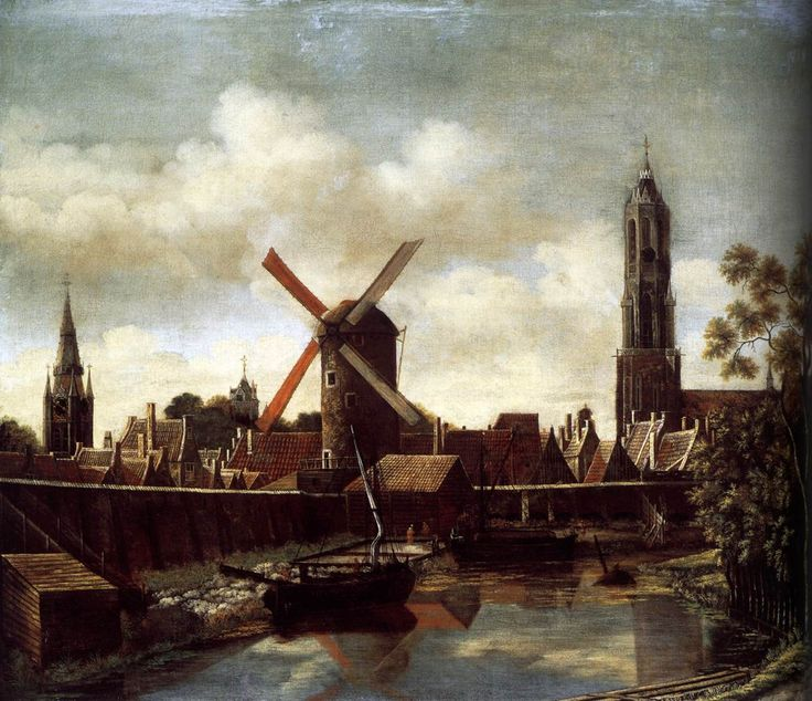The Harbour of Delft Daniel Vosmaer, 1658-1660