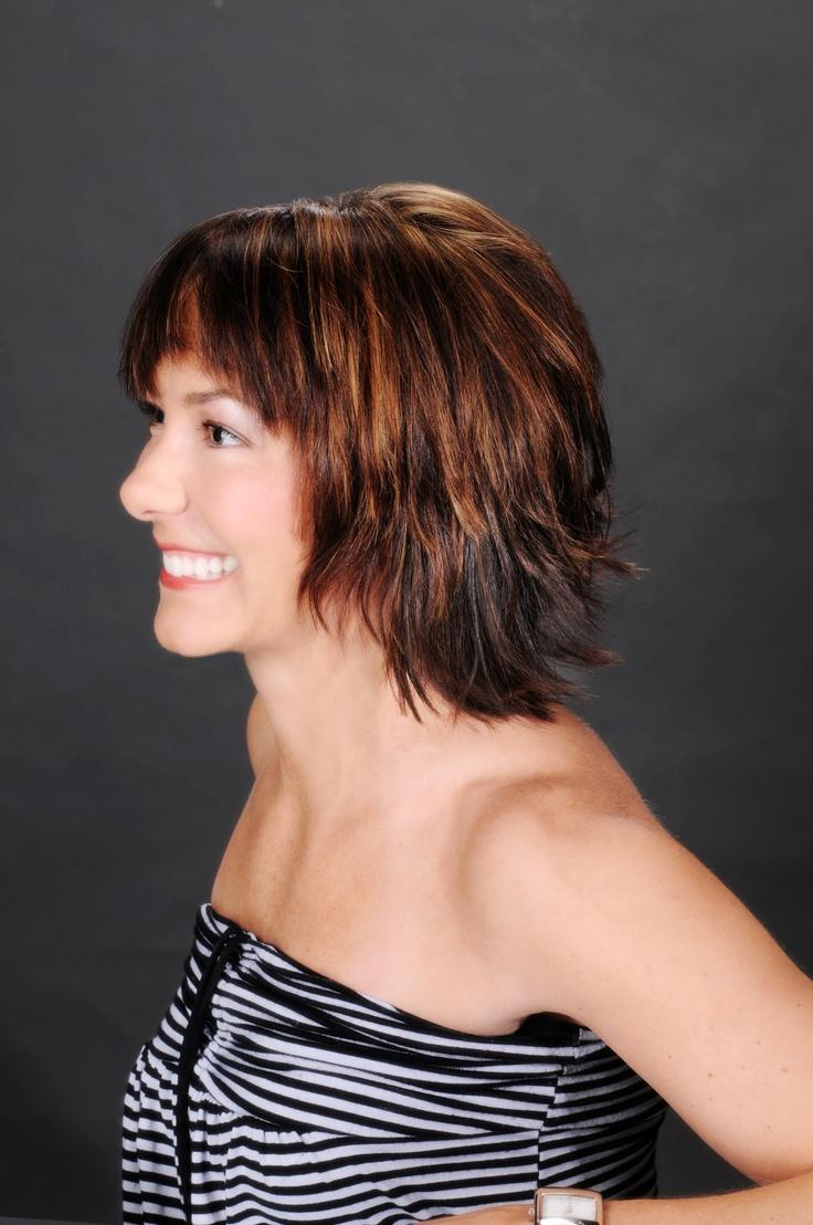 Chocolate Brown Hair With Auburn Highlights Deep brown with auburn ...