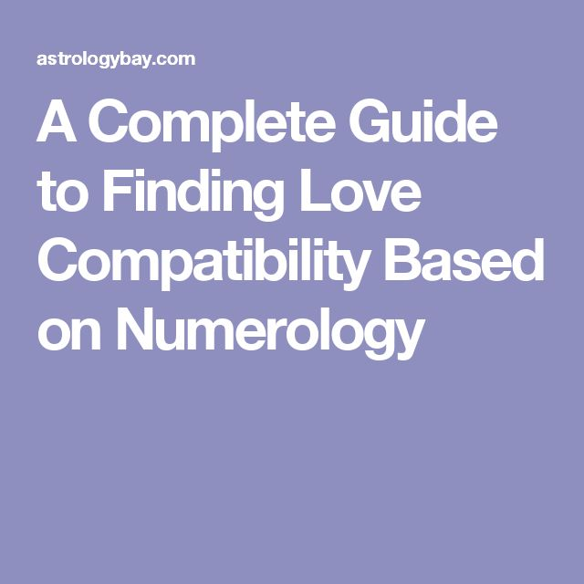 A Complete Guide to Finding Love Compatibility Based on Numerology
