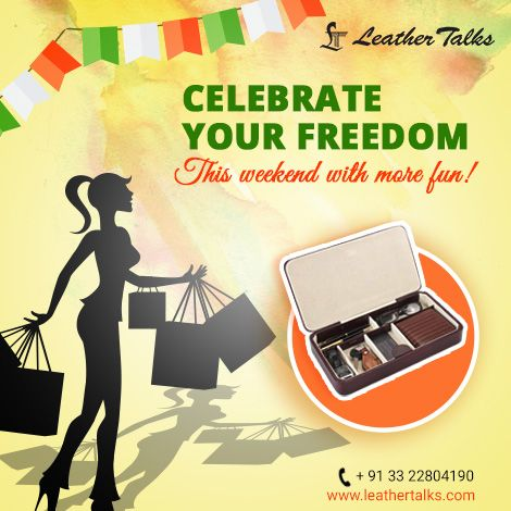 Time to celebrate your Freedom once again! Rush to the nearest LT store to pamper yourself with the most luxurious range of gifts available!