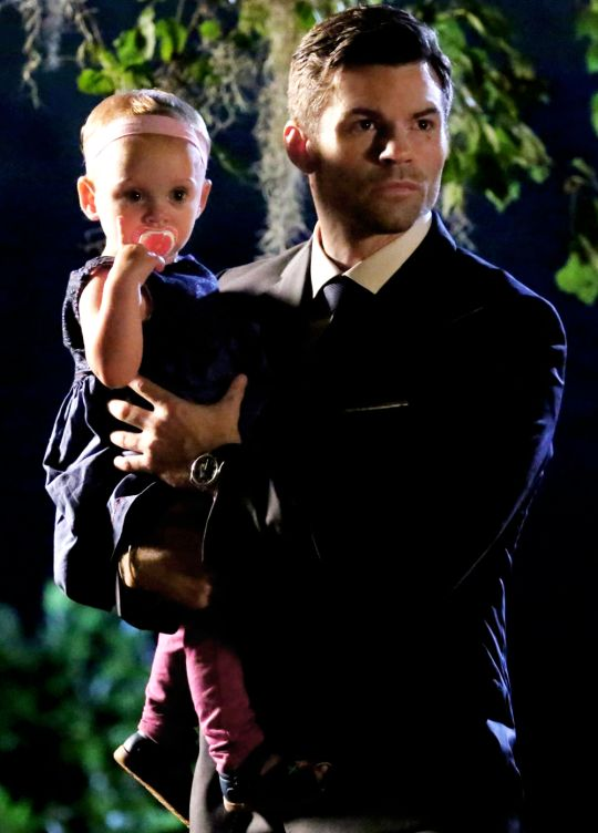 "The Originals - Elijah and Hope → 3x01 ""For The Next Millennium"